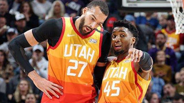NBA爵士球星米切尔 戈贝尔证实感染新冠肺炎