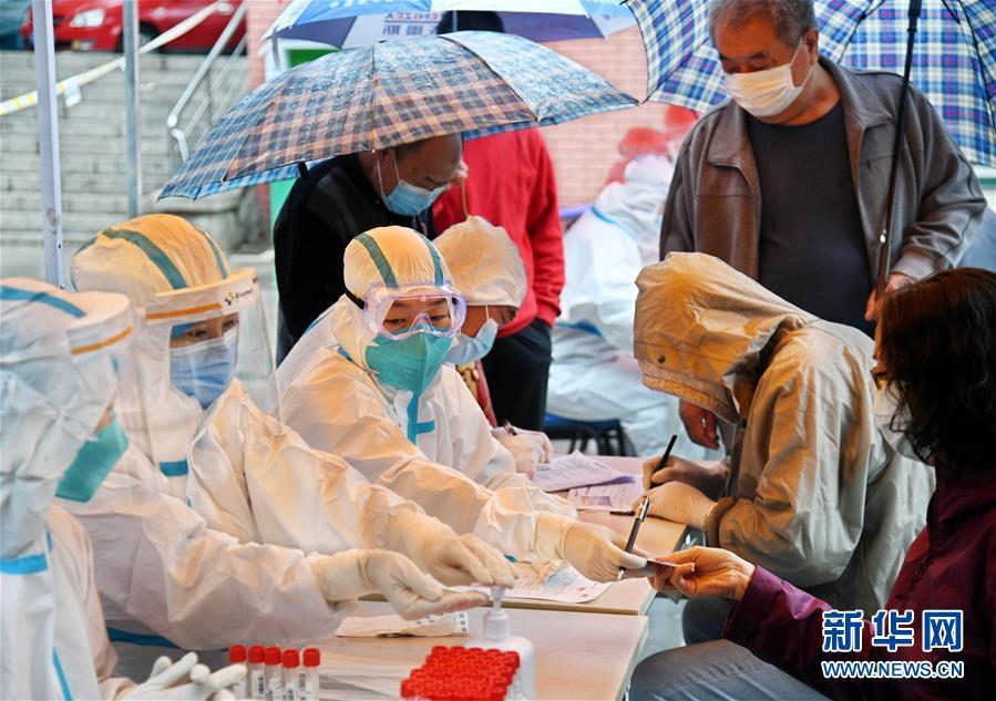(聚焦疫情防控)(1)青岛全员核酸检测:已采样超过560万份