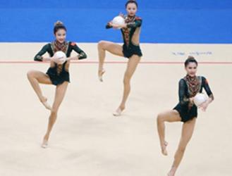 联合队获艺术体操集体全能冠军