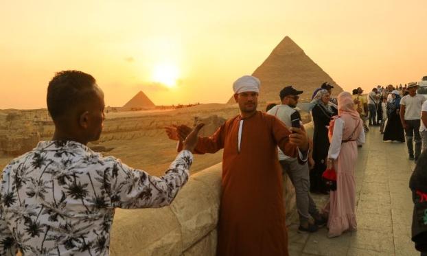埃及迎来旅游旺季